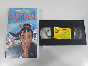 MULAN-VHS-CINTA-TAPE-LOS-CLASICOS-DE-WALT-DISNEY-COLECCIONISTA-ESPANA-3T