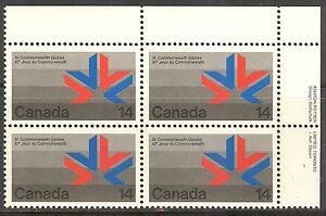 Canada-757-1978-14c-11th-Commonwealth-Games-Edmonton-PB4-Unused-NH