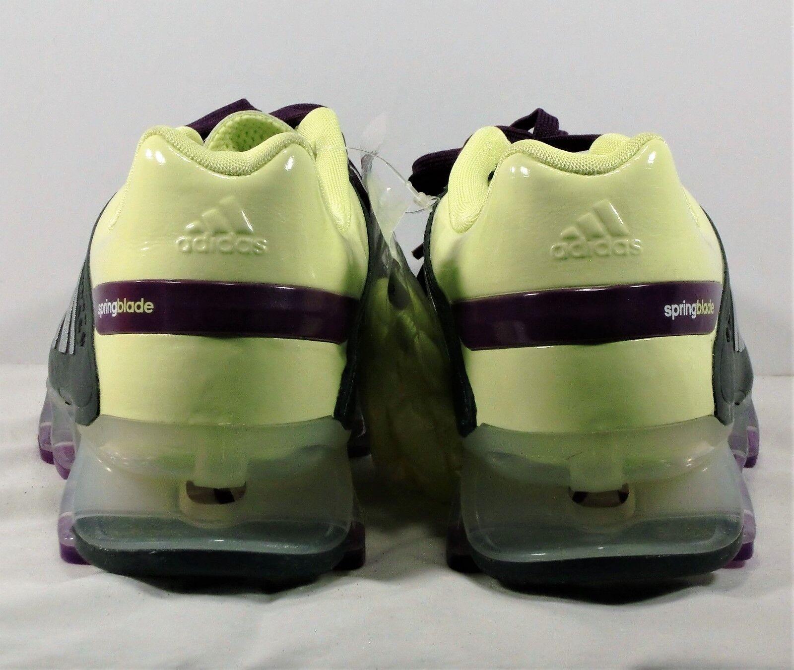 Adidas Springblade Razor Glow & Metallic Metallic Metallic Silver Running shoes Sz 7.5 NEW G97688 4af182