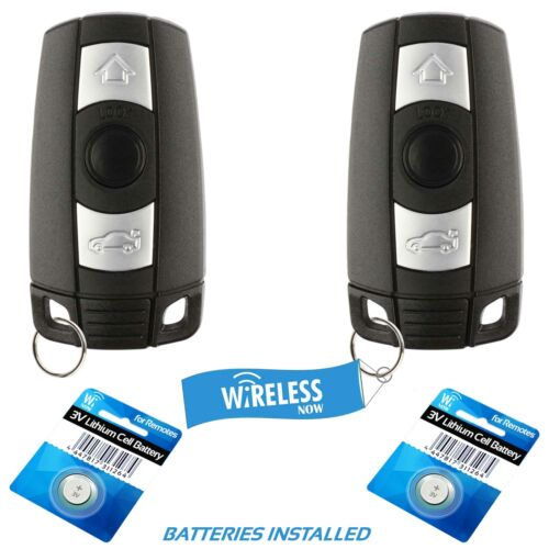 2 Replacement For BMW 328i xDrive 328xi 2007 2008 2009 2010 2011 Key Fob Remote