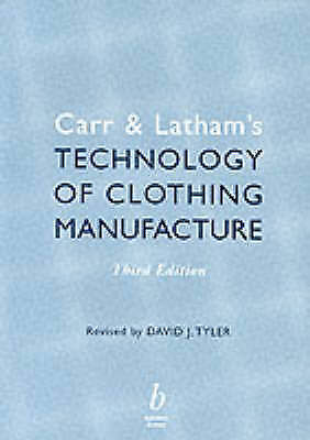 Carr and Latham's Technology of Clothing Manufacture-ExLibrary