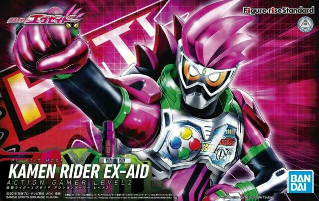 Figure Rise Standard Masked Kamen Rider W Lunatrigger Model Kit Bandai Je7 For Sale Online Ebay