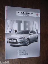 Mitsubishi Lancer + Lancer Sportback Sondermodelle XTRA Prospekt, D, 4.2011