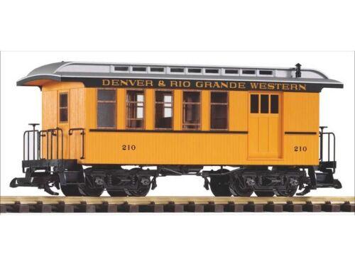 PIKO 38601 Personen-//Packwagen der Denver /& Rio Grande Western Spur G