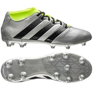 358db1494 adidas Ace 16.3 Primemesh FG   AG 2016 Soccer Shoes New Silver Kids ...
