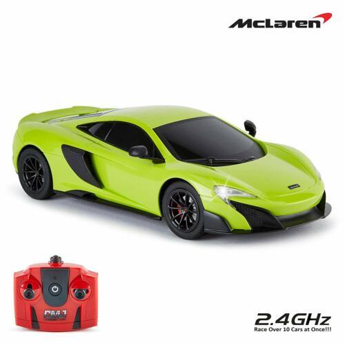 CMJ Télécommande échelle 1:18 Officially Sous Licence McLaren 675LT RC voiture 2.4Ghz