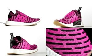 Details about Adidas NMD R2 PK Shoes Shock Pink Core Black Mens Size 10 US NIB BY9697