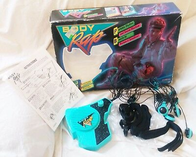 Vintage 1980s Body Rap Sound Machine Electronic Music Toy in Original Box