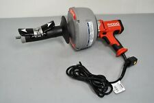 Ridgid K 45af Autofeed Clogged Sink Plumbing Plumbers Cleaning Machine With Cable