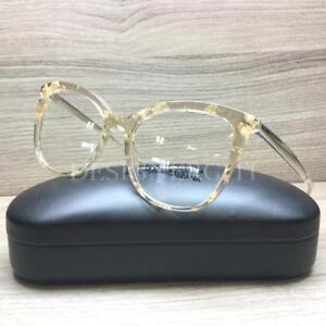 6fef33f7eb2 Dolce   Gabbana DG 3278 Eyeglasses Yellow Gold Leaf 3146 Authentic ...