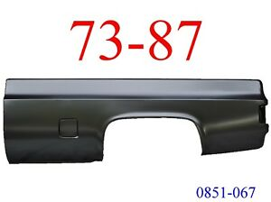 1973-87 CHEVY PU DOOR OUTER LOWER PANEL LH 73-87