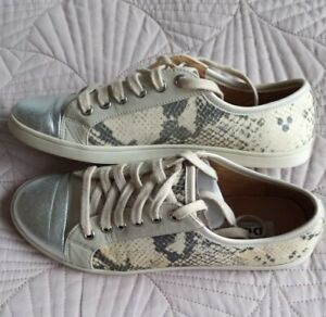 Dune London Ennis Leather Trainers
