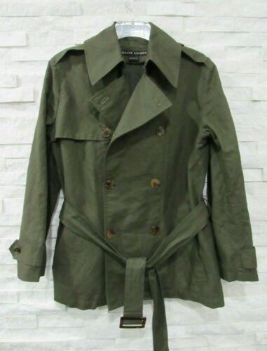 Ralph Lauren Black Label Olive Green Linen Cotton