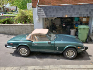 1978 Triumph Spitfire *on hold pending sale*