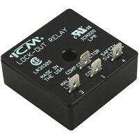 Icm Controls Icm220 Icm220b Lockout Lock-out Relay 18-30 Vac
