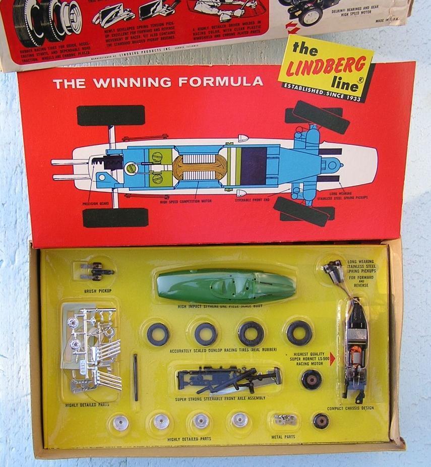 Lindberg BRM Formula-1 1 32 Slot Racer 1965 kit NIB NOS NEW in BOX kit  498