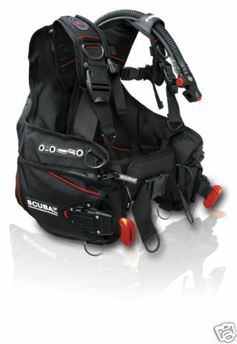 Red Hat Diving Nuovo weight integrated BCD, new. Large
