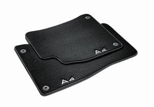 Audi Premium Textilfussmatten Velours Fussmatten vorn A4 8K B8 Avant