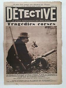 DETECTIVE-n-83-1930-AL-CAPONE-Massacre-de-Ste-Valentine-Vampire-de-Dusseldorf