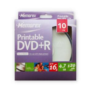 DVD-R-16x-Memorex-Printable-Tarrina-10-uds
