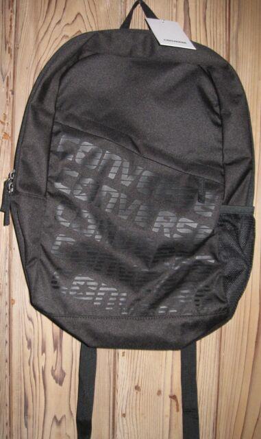 Converse Speed Wordmark Black Backpack 10005247 a01