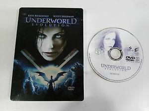 UNDERWORLD-EVOLUTION-DVD-STEELBOOK-ENGLISH-DEUTSCH-GERMAN-ED-KATE-BECKINSALE-AM