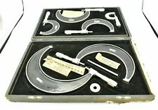 Starrett 226m 201m 0 150mm Outside Micrometer Set 6 Piece With Case Accessories