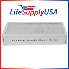 4 NEW Air Purifier Filters fit ALL Blueair 400 Series Models by LifeSupplyUSA