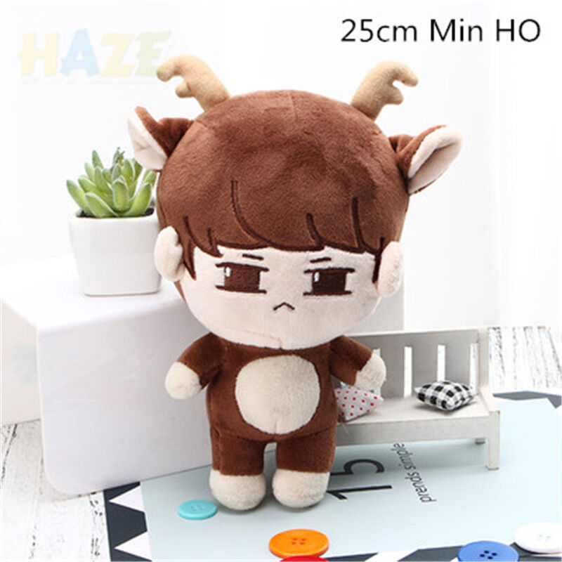 KPOP Shinee Character Doll Stuffed Plush Soft Toy MinHo Key Key Key Jonghyun Animal Doll 05ff59