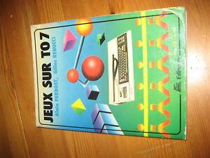 thomson to7 livre jeux sur to7 ebay ebay