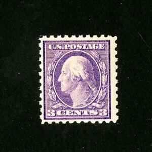 US-Stamps-426-F-VF-Pink-Back-Variety-OG-NH-Scott-Value-150-00