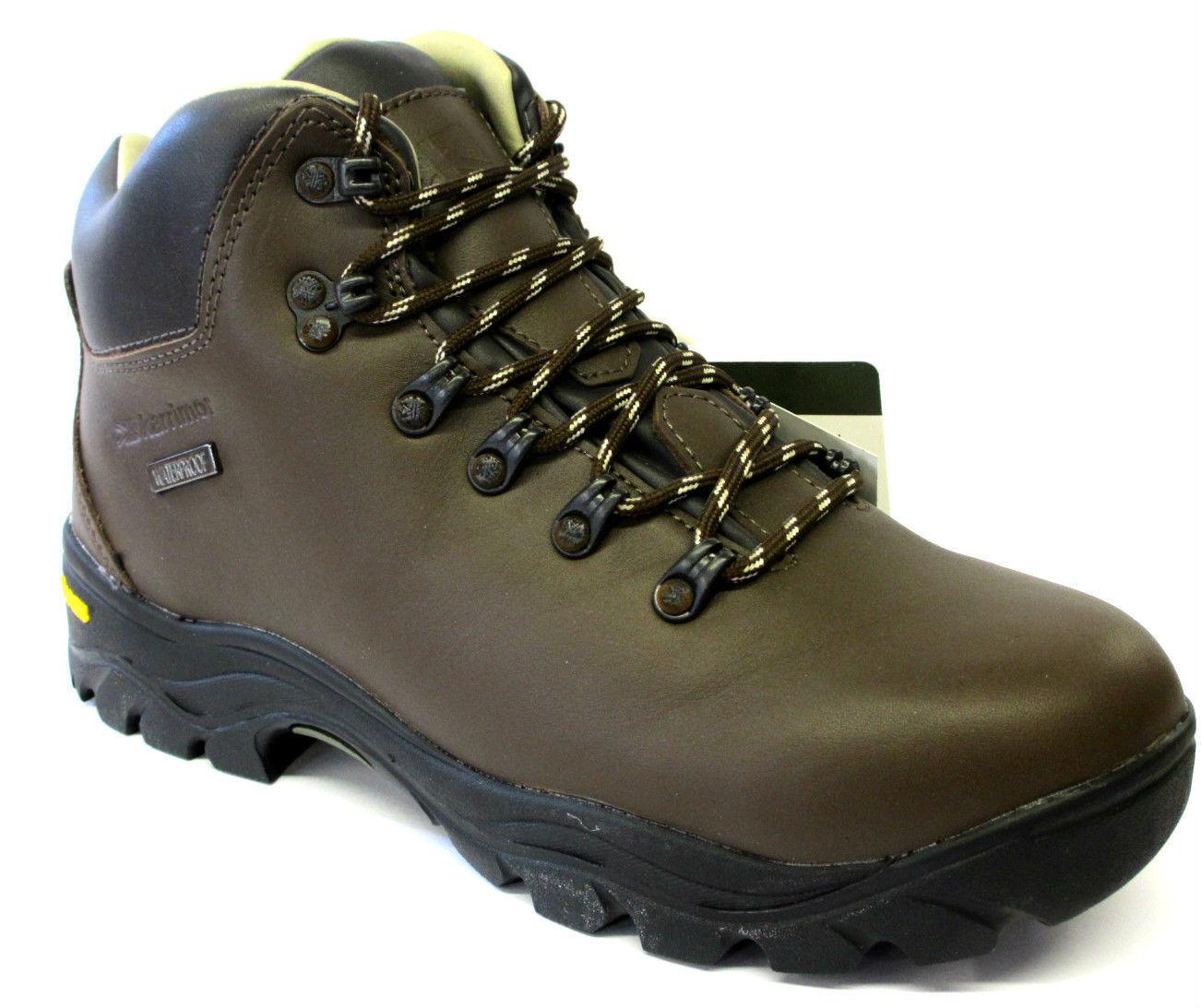 Karrimor 'Penrith L Weathertite' Ladies Brown Leather Waterproof Walking Boots
