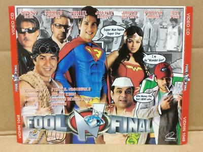 India Bollywood Fool N Final Comedy Chunky Pandey Singapore 2x Vcd