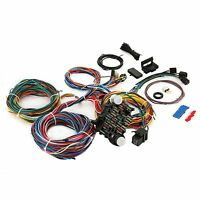 21 Circuit Universal Wire Harness 21 Fuse 12v Street Hot Rat Muscle Rod Wiring