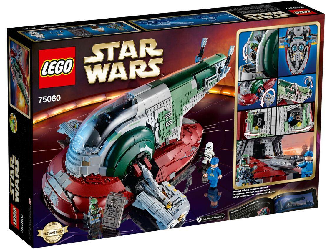 LEGO Star Wars 75060 - Slave I™ - Nuovo perfetto ritirato Boba Fett