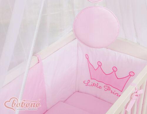 Little Princess rosa Bettwäscheset Babybett Beistellbett FABIO Matratze