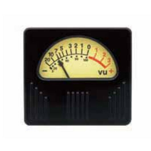 Sifam AL19R Retro Vintage VU-Meter, beleuchtet