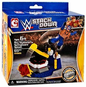 WWE-REY-MYSTERIO-039-s-SPRINGBOARD-SPLASH-STACKDOWN-UNIVERSE-SET-MISB-C3-65pcs-2014