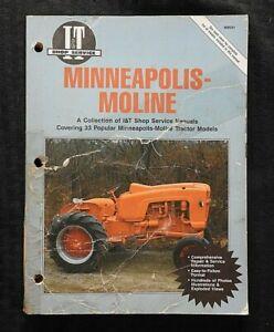 Mineapolis-M-5-504-602-604-670-R-u-Ut-V-Za-Zt-GB-Ub-Tractor-i-Altura-Manual