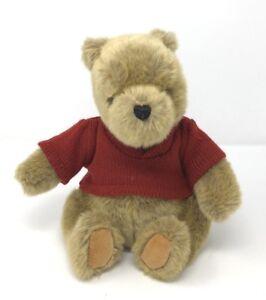 Gund Disney Classic Pooh Bear Red Vest Shirt Winnie The Pooh Plush