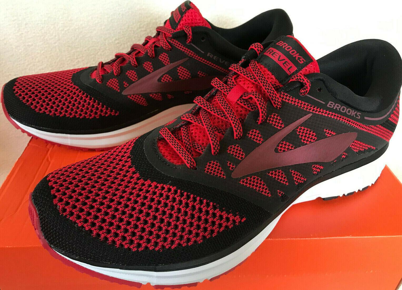Brooks Revel 1102601D669 Red Neutral Cush Marathon Road Running shoes Men's 11 D