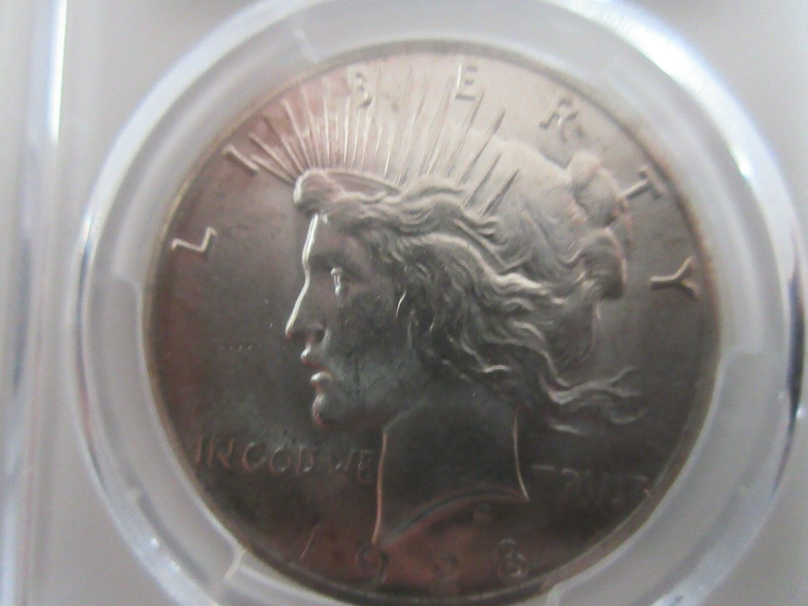 1928 , Peace Dollar , PCGS , MS64