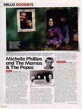 Hello, Goodbye Michelle Phillips & Mamas Papas Cutting