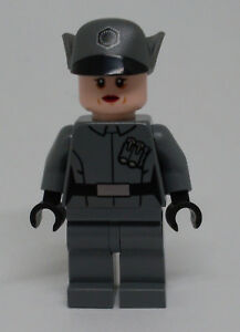 Lego® Star Wars Minifigur Zubehör 1x Haare  für Kylo Ren aus Set 75104 Neu