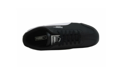 Puma Roma Basic Shoes Black White Leather Classic Women Big Kids Youth Sneakers