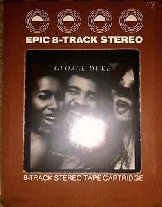 SEALED-NEW-UNOPENED-GEORGE-DUKE-REACH-FOR-IT-8-TRACK-TAPE-LOOK