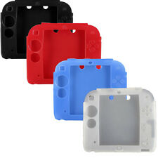 New 4pcs Protective Soft Silicone Rubber Gel Skin Case Cover for Nintendo 2DS