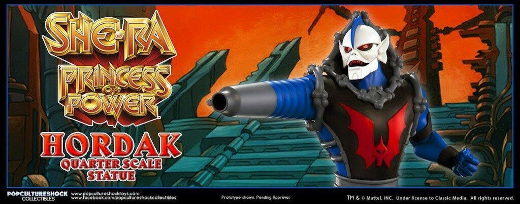 HORDAK STATUE EXCLUSIVE PCS BUST PROP MASTERS OF THE UNIVERSE MOTU HE-MAN SHE-RA