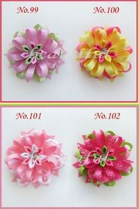 20 BLESSING Good Girl Boutique Modern Style C- Bird's Nest Hair Bow Clip 200 No.