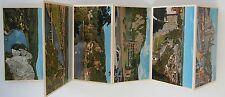 "Belgien 18 Miniatur-Fotoansichten Leporello ~1970/80 ""Meuse Namuroise"" Fotos"